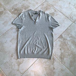 Zara Man Short Sleeve Sweater Size L